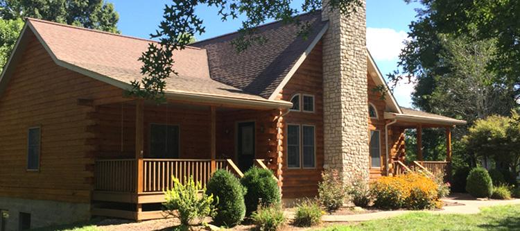 Log Home Log Repairs  Owensboro, Kentucky