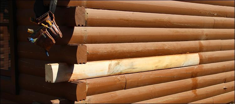 Log Home Damage Repair  Owensboro, Kentucky