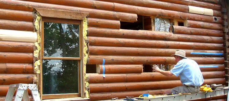 Log Home Repair Owensboro, Kentucky